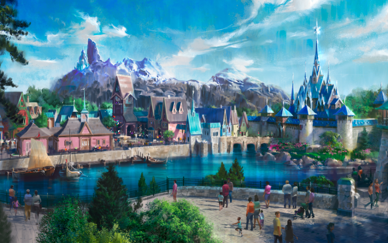 The first look at Disneyland Paris' new Frozen Land (Disneyland Paris)