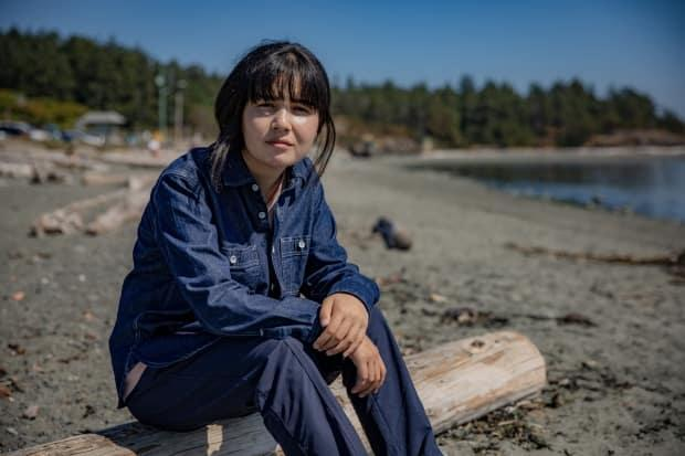 Arifa, an Afghan refugee claimant in Canada, has waited several months for her application to be considered. (Dillon Hodgin/CBC - image credit)