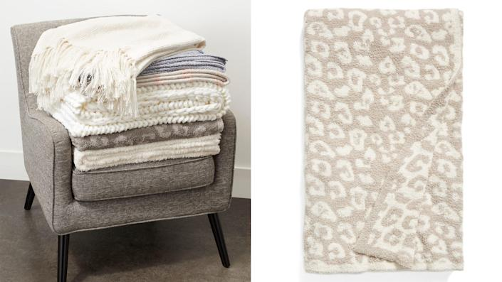 Best gifts to send 2021: Barefoot Dreams blanket.