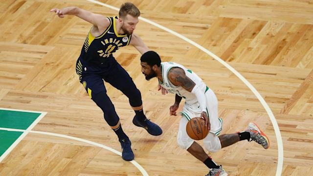 The Boston Celtics moved 2-0 up against the Indiana Pacers in their NBA playoff series.