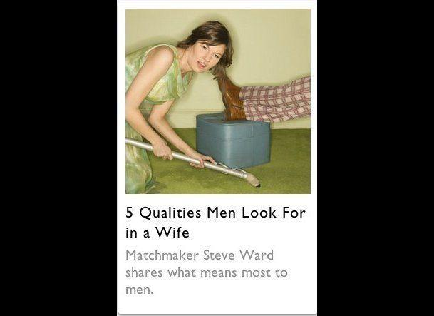 "And there are <a href=""http://magazine.foxnews.com/love/5-qualities-men-look-wife"" target=""_hplink"">five personality traits</a> that every man looks for..."