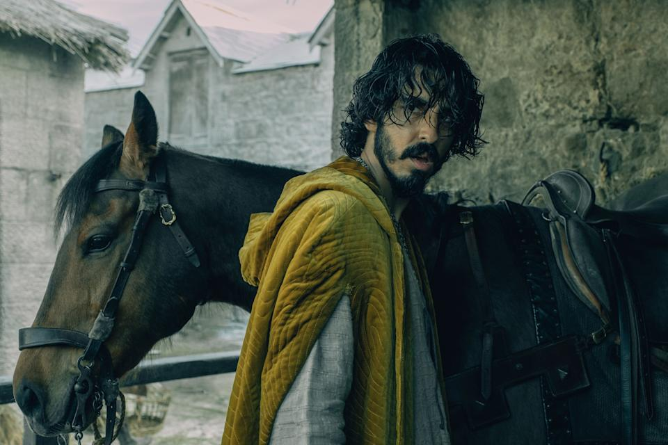 Dev Patel as Gawain in the Green Knight. (Photo courtesy of Shaw Organisation)