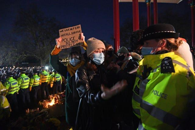 Clapham Common vigil