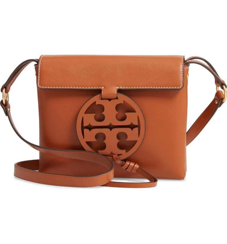 <p><span>Tory Burch Miller Leather Crossbody Bag</span> ($200, originally $398)</p>