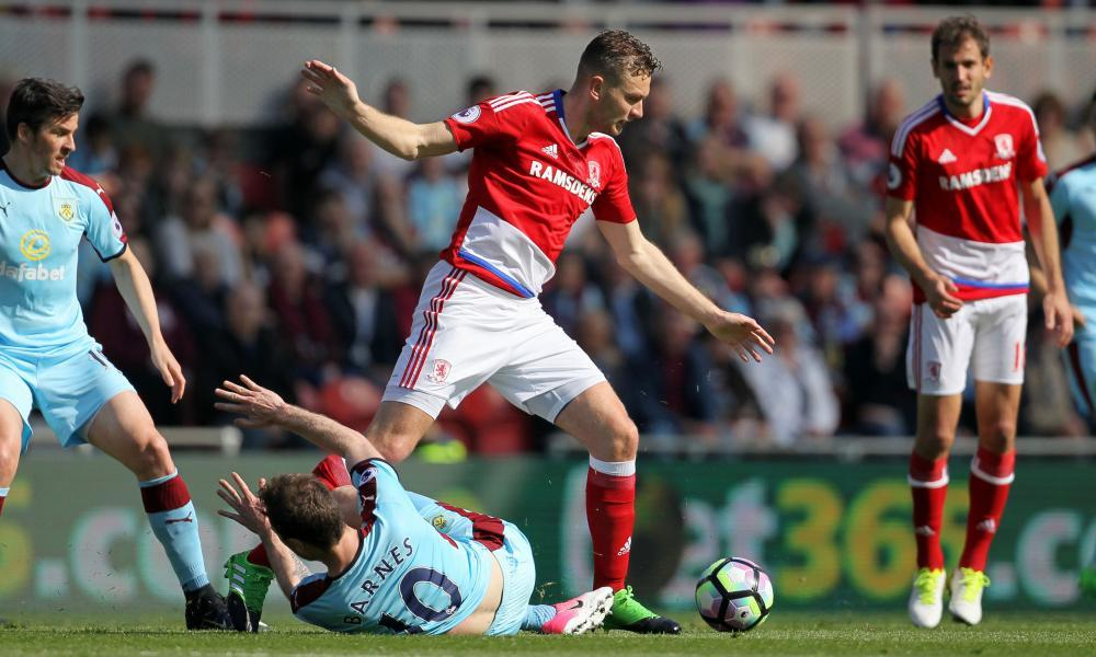 The defender Ben Gibson will be the target for several top-flight clubs if Middlesbrough are relegated.
