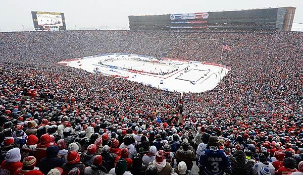 NHL: Winter Classic 2019: Chicago trifft auf Boston