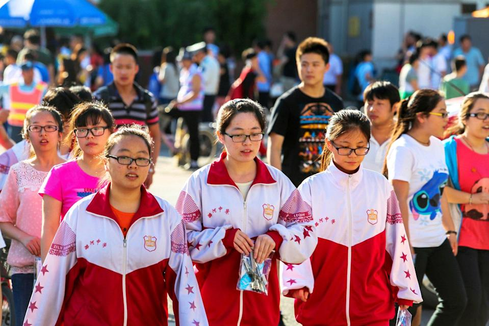 China's State Council released a directive to schools 10 years ago to ensure all students took part in one hour of outdoor exercise, but it has largely been ignored, parents say. Photo: Getty Images