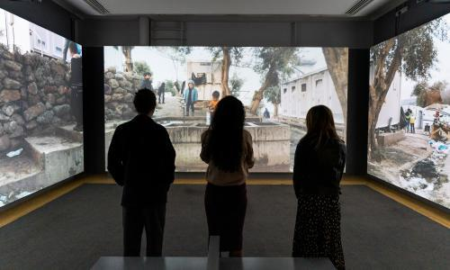 Imperial War Museum offers a look inside Lesbos refugee camp