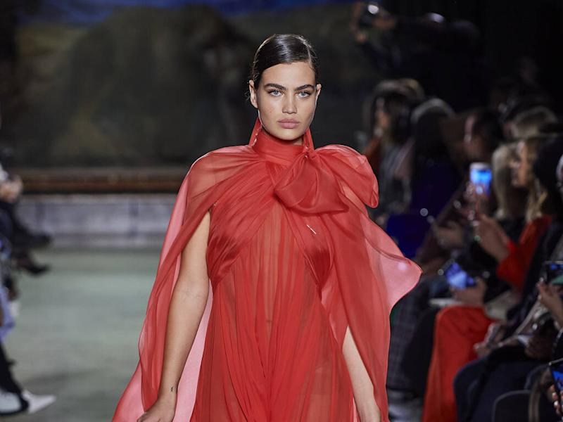 Brandon Maxwell thrilled to have dress included in New York exhibition