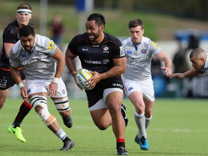 Billy Vunipola made an impressive try-scoring performance (Getty)