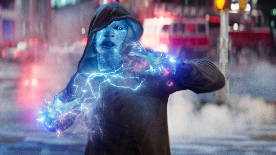 Jamie Foxx as Electro in 'The Amazing Spider-Man 2' (Columbia Pictures)