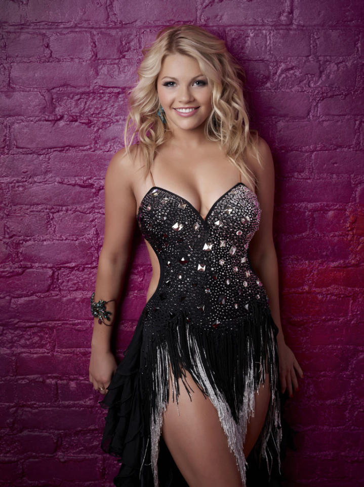"Witney Carson (18), is a Latin Ballroom dancer from American Fork, UT, on ""So You Think You Can Dance."""