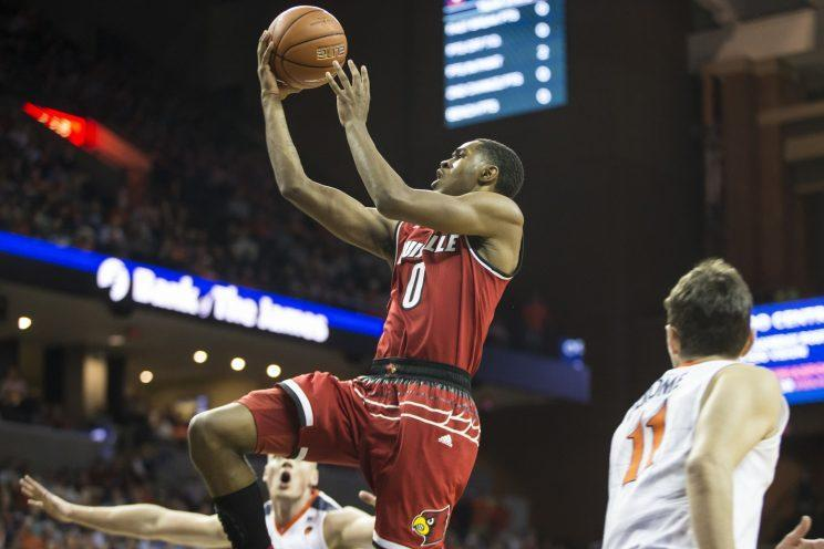 V.J. King scored 12 second half points, but the rest of his team couldn't even reach double-digits. (Getty)