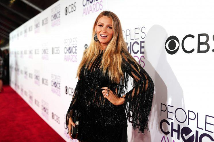 Blake Lively at the 2017 People's Choice Awards [Photo: Getty]