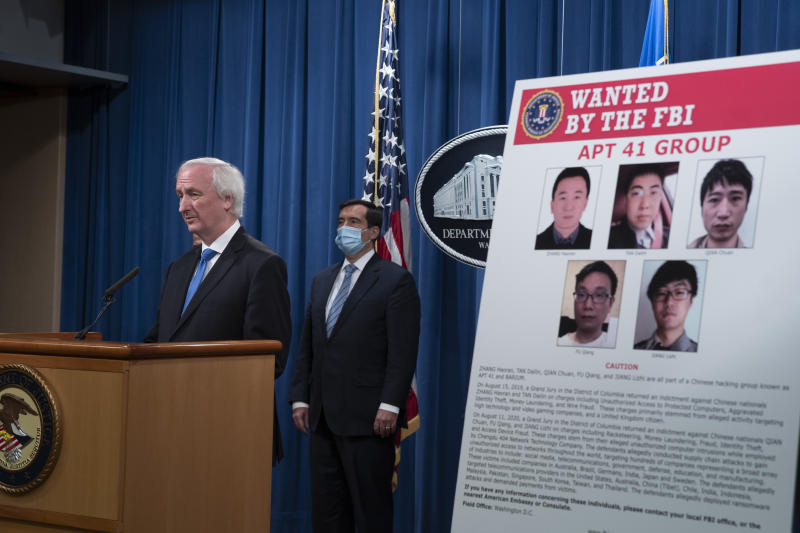 Chinese Hackers Charged