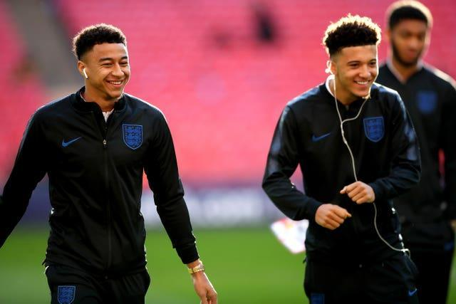 Lingard has backed Jadon Sancho to come good at Manchester United.
