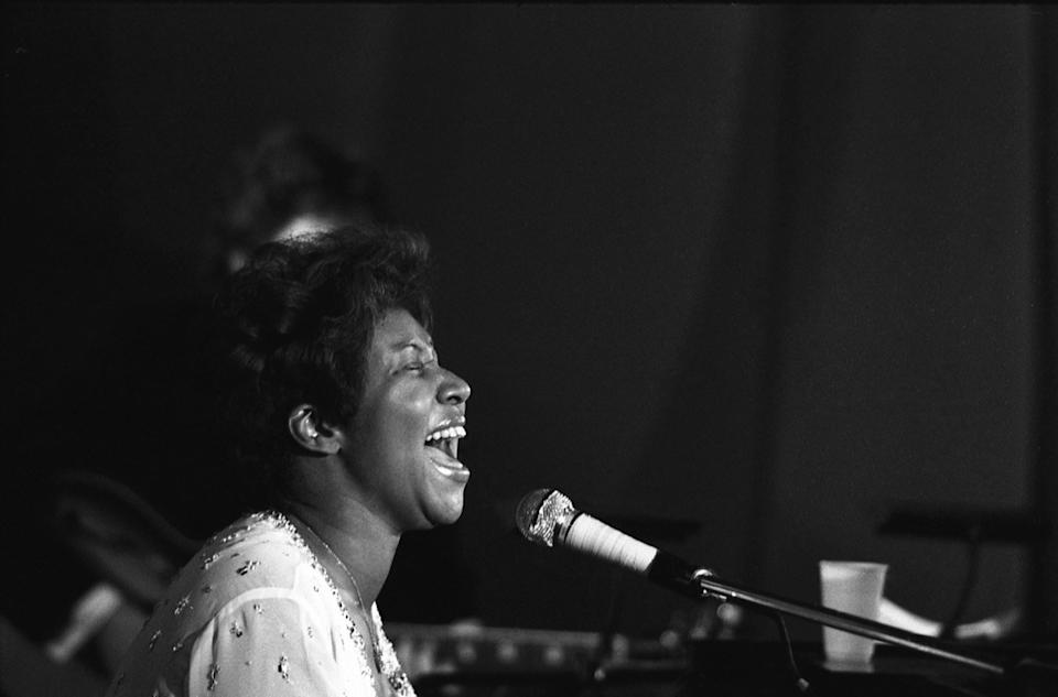 Aretha Franklin in Concert in the 1970s Cost of a Big Date