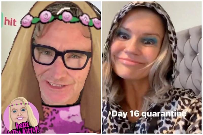 Stars have proven they're just as obsessed with the Tiger King as we are: Dave Hughes / Kerry Katona