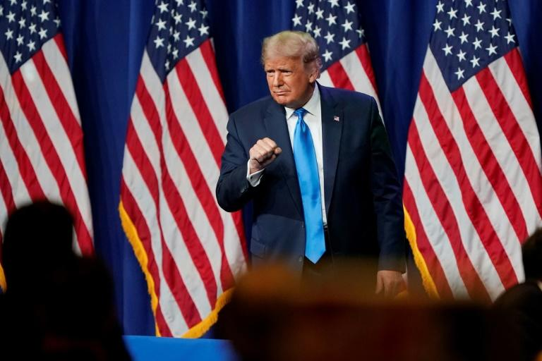 Republican convention touts Trump, stokes fears if he loses