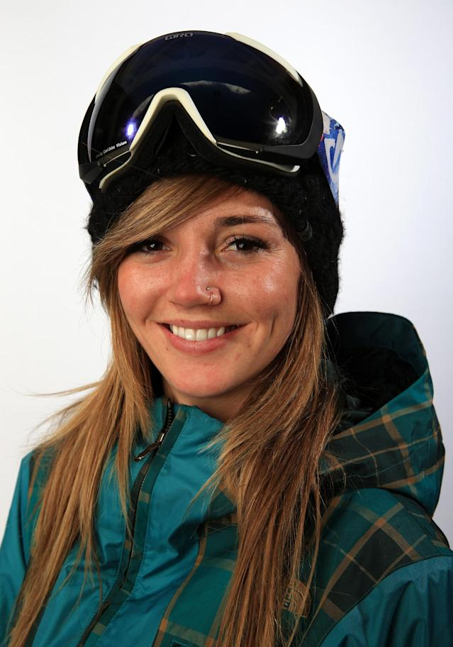 PARK CITY, UT - OCTOBER 02: Snowboarder Kaitlyn Farrington poses for a portrait during the USOC Media Summit ahead of the Sochi 2014 Winter Olympics on October 2, 2013 in Park City, Utah. (Photo by Doug Pensinger/Getty Images)