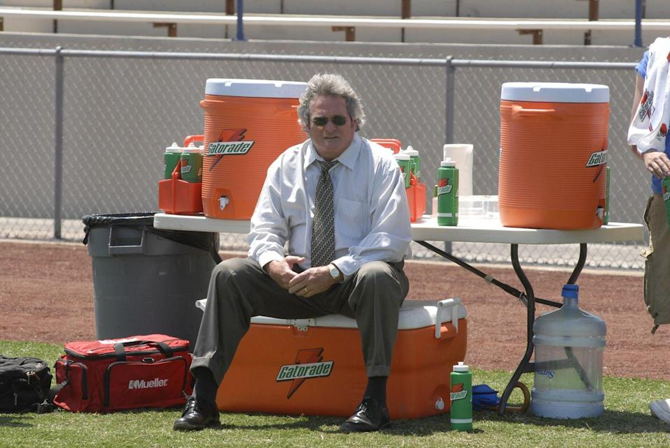 <p>Buddy Garrity was the voice of the Dillon Panthers as the president of the team's booster club. A former Panthers quarterback, Garrity had much love for his team, sometimes getting into arguments with Coach Taylor.</p><p>Before starring on the show, Brad Leland had a long career in acting, performing in many theater productions, along with roles in <em>Walker, Texas Ranger</em> and the 2004 film adaptation of <em>Friday Night Lights</em>.</p>