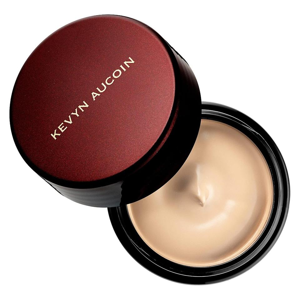 "<p>You only need a bit - the size of a grain of rice - to correct any hyperpigmentation or redness with this <a href=""https://www.popsugar.com/buy/Kevyn-Aucoin-Sensual-Skin-Enhancer-Concealer-573265?p_name=Kevyn%20Aucoin%20The%20Sensual%20Skin%20Enhancer%20Concealer&retailer=sephora.com&pid=573265&price=48&evar1=bella%3Aus&evar9=47465079&evar98=https%3A%2F%2Fwww.popsugar.com%2Fbeauty%2Fphoto-gallery%2F47465079%2Fimage%2F47465088%2FKevyn-Aucoin-Sensual-Skin-Enhancer-Concealer&list1=sephora%2Cconcealer%2Cbeauty%20shopping&prop13=mobile&pdata=1"" class=""link rapid-noclick-resp"" rel=""nofollow noopener"" target=""_blank"" data-ylk=""slk:Kevyn Aucoin The Sensual Skin Enhancer Concealer"">Kevyn Aucoin The Sensual Skin Enhancer Concealer</a> ($48). It's incredibly creamy and hydrating, too, thanks to jojoba oil and honey, and settles into a matte, waterproof finish.</p>"