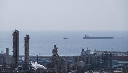FILE PHOTO: A general view shows a unit of South Pars Gas field in Asalouyeh Seaport