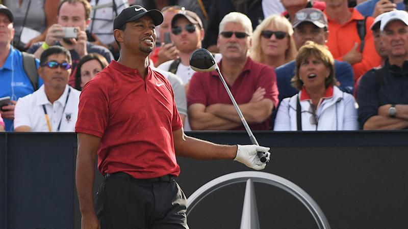 tiger woods furious after golf fan u0026 39 s  u0026 39 garbage move u0026 39  ruins