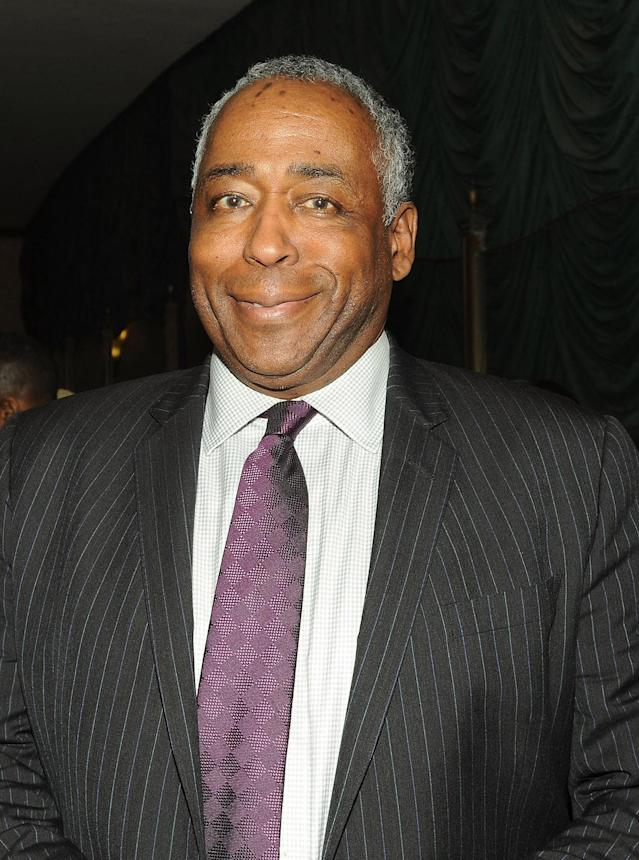 <p>John Saunders died August 10 at the age of 61. He was a prominent sports reporter and broadcaster. — (Pictured) John Saunders attends the 2016 New Jersey Hall Of Fame Induction Ceremony at Asbury Park Convention Center in 2016 in Asbury Park, New Jersey. (Bobby Bank/WireImage) </p>