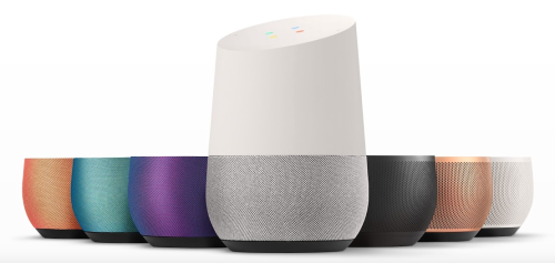 Google Home different colours (google home in Singapore)