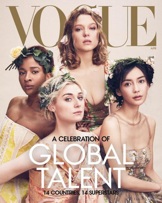 US Vogue celebrates global stardom with April issue (Vogue)