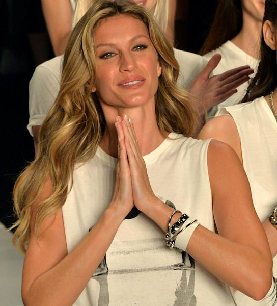 Gisele Bündchen will become the first  Eco Laureate recipient at the Green Carpet Fashion Awards on September 24.