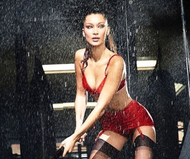 Bella Hadid flaunts 'killer' body in holiday photo shoot