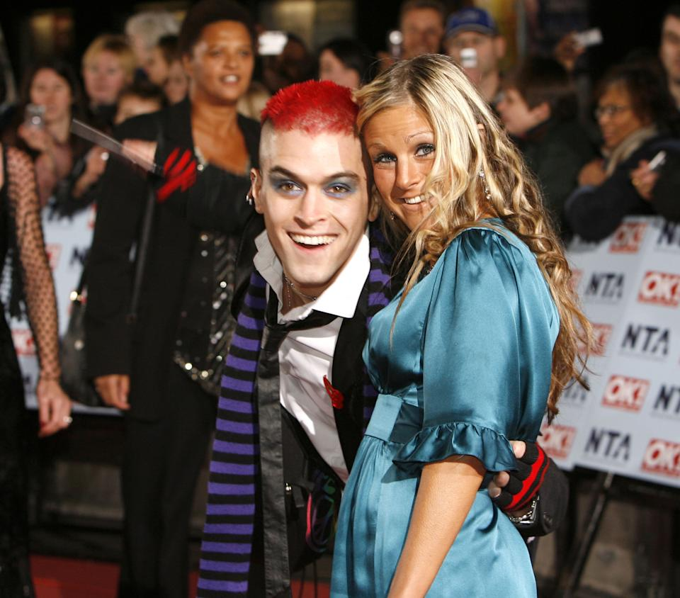 Pete Bennett and Nikki Grahame at the Royal Albert Hall in London, United Kingdom. (Photo by Richard Lewis/WireImage)