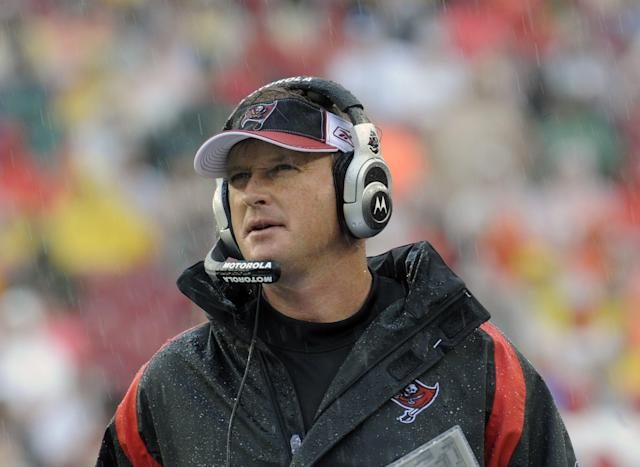 Could Jon Gruden return to the sideline? (Getty)