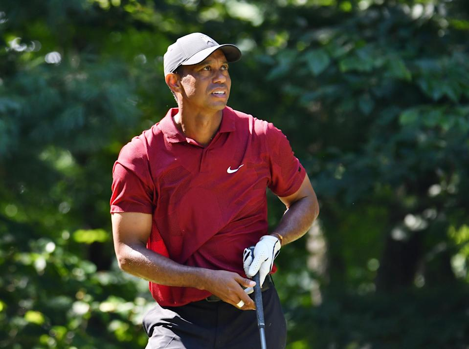 Tiger Woods' injuries in a car crash early Tuesday were called serious but not life-threatening.