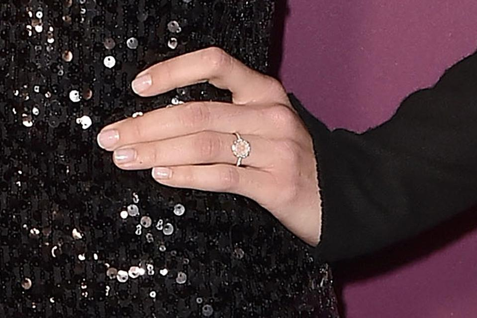 Mandy Moore Makes First Red Carpet Appearance Since Engagement