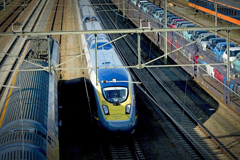 Eurostar will run direct rail services from London to Amsterdam from April: AFP/Getty Images
