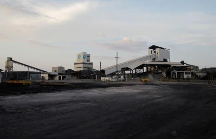 General view shows coal mine Pasta de Cochos where 65 miners died during an explosion, in San Juan de Sabinas