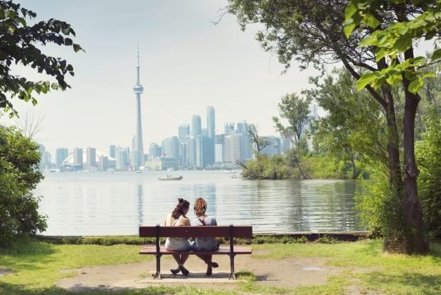The Toronto Island Park Master Plan, which launched Wednesday, looks to improve the visitor experience at the popular park. (Shutterstock - image credit)