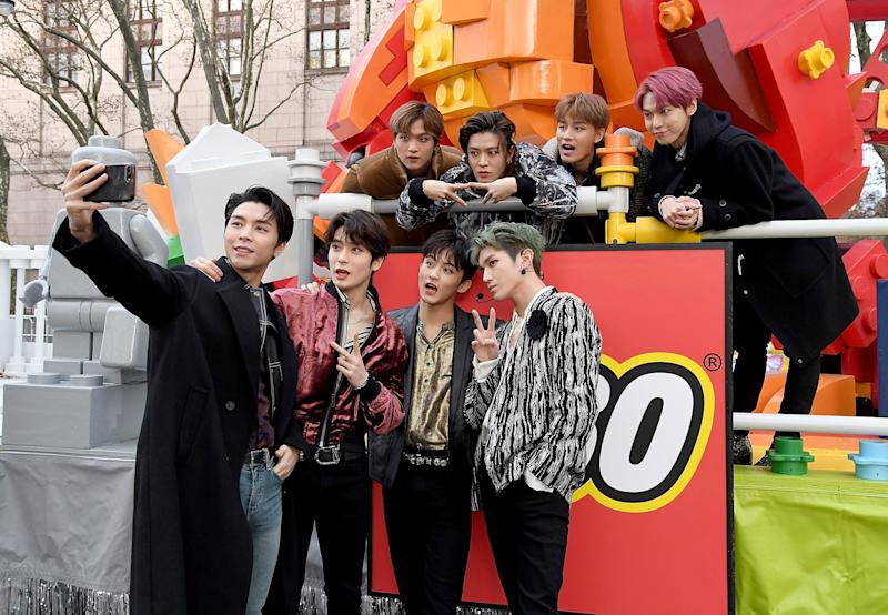 NCT 127's Made History as The First K-Pop Group to Perform at Macy's Thanksgiving Day Parade