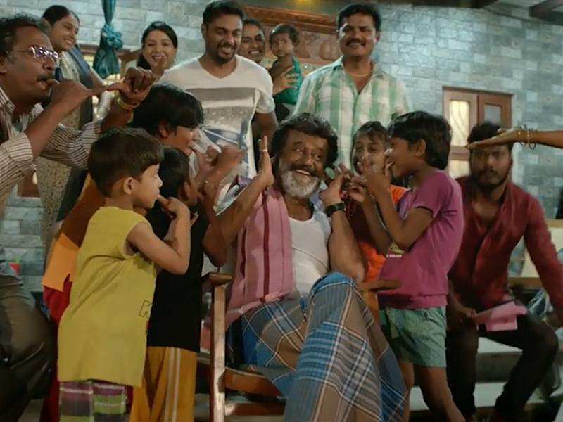 "Rajinikanth must be celebrating ""Kaala's"" good run at the local cinemas."