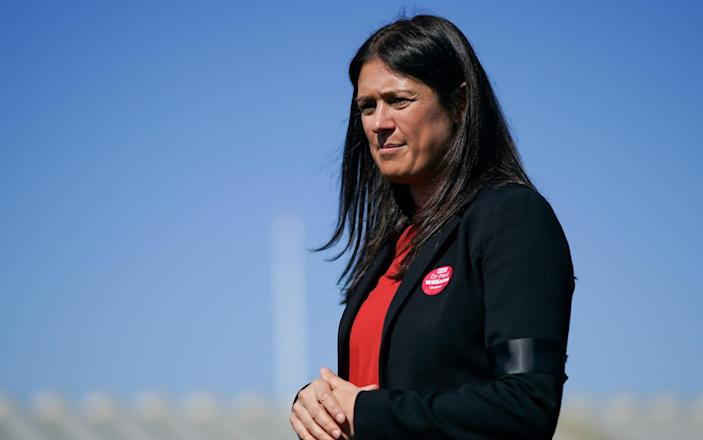 Lisa Nandy said 'somebody is lying' about the flat fund row - Getty
