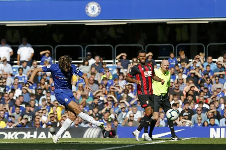 Chelsea manager Maurizio Sarri hailed Marcos Alonso as the best left-back in Europe after another fine performance against Bournemouth