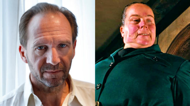 Ralph Fiennes is in talks to play Miss Trunchbull in a new take on 'Matilda'. (Credit: Geoffroy Van Der Hasselt/AFP/TriStar Pictures)