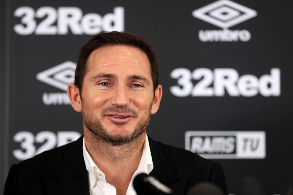 Frank Lampard refuses to rule out John Terry reunion at Derby