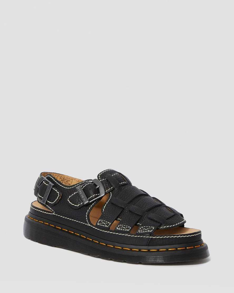 """If I ever trade up my trainers for sandals, it will be because of these! I am fully here for the <a href=""""https://www.refinery29.com/en-gb/fisherman-sandals-trend"""" rel=""""nofollow noopener"""" target=""""_blank"""" data-ylk=""""slk:fisherman sandal trend"""" class=""""link rapid-noclick-resp"""">fisherman sandal trend</a>. I also just love a good pair of Docs. These are perfectly breezy for summer but also provide enough coverage that I can wear them into autumn (or maybe even winter if I'm feeling adventurous) by pairing them with some socks.<br><br><strong>Dr Martens</strong> Leather Fisherman Sandals, $, available at <a href=""""https://www.drmartens.com/uk/en_gb/p/24830001"""" rel=""""nofollow noopener"""" target=""""_blank"""" data-ylk=""""slk:DR MARTENS"""" class=""""link rapid-noclick-resp"""">DR MARTENS</a>"""
