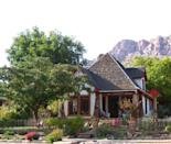 """<p><a href=""""https://www.tripadvisor.com/Hotel_Review-g61001-d82466-Reviews-Under_The_Eaves-Springdale_Utah.html"""" rel=""""nofollow noopener"""" target=""""_blank"""" data-ylk=""""slk:Under The Eaves Inn"""" class=""""link rapid-noclick-resp"""">Under The Eaves Inn</a> in Springdale</p><p>""""A complimentary breakfast at Oscar's Cafe is included with your reservation. The cafe is just a few feet down from the inn. The food at Oscar's is delicious!<span class=""""redactor-invisible-space"""">"""" - Yelp user <a href=""""https://www.yelp.com/user_details?userid=JGnqasIkGMLfSejt7mw9qQ"""" rel=""""nofollow noopener"""" target=""""_blank"""" data-ylk=""""slk:Judy H."""" class=""""link rapid-noclick-resp"""">Judy H.</a></span></p>"""