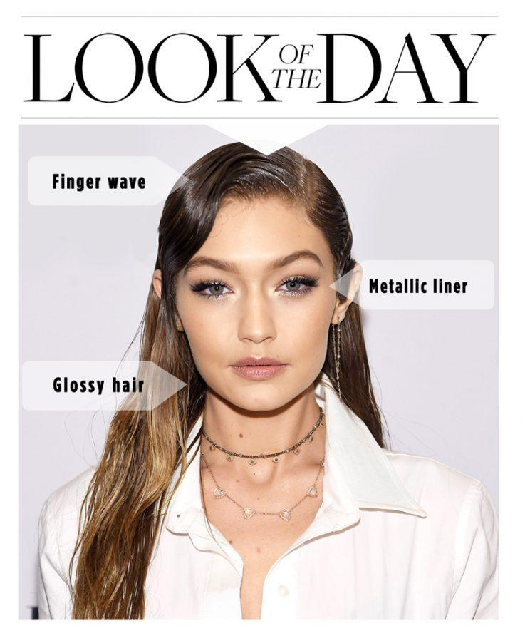 Gigi Hadid's latest hairstyle is the healthy solution to Halloween. (Photo: Getty)