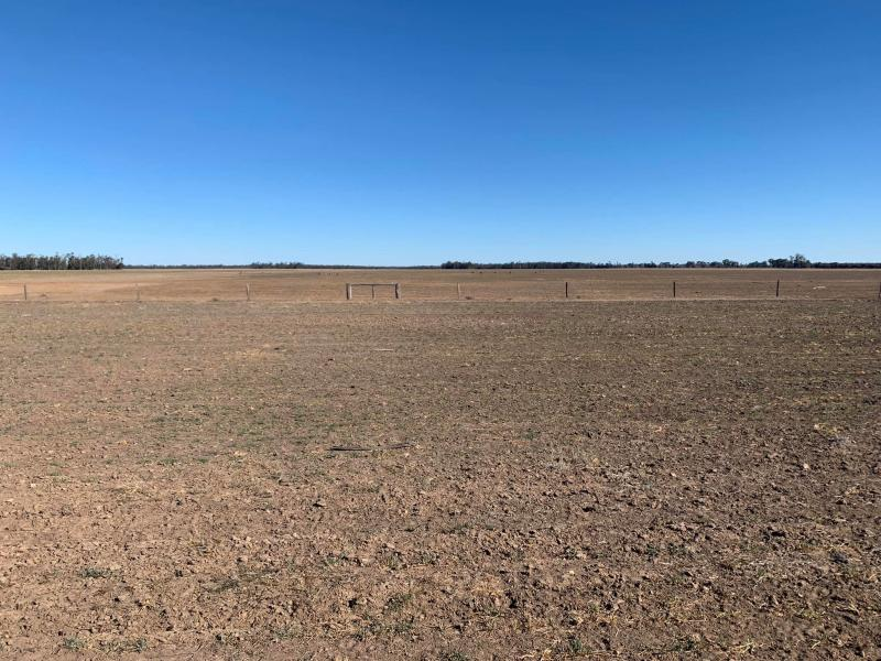 Farm in Southwest Queensland left dry from years of drought.
